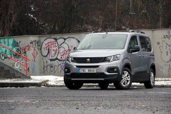 Peugeot Rifter 1.5 BlueHDI GT line - výrazná proměna