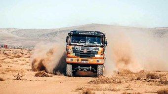 Africa Eco Race - Tomeček po 2. etapě ve vedení
